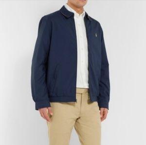 Polo Ralph Lauren Navy Cotton Twill Light Jacket